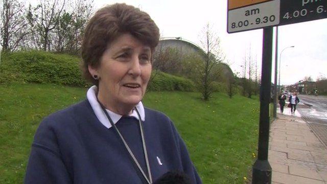 Race organiser Margaret Lilley