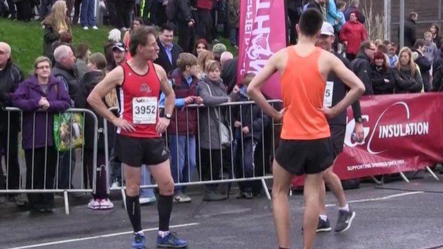 Bemused runners