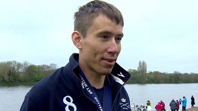 Malcolm Howard, President of the Oxford University Boat Club