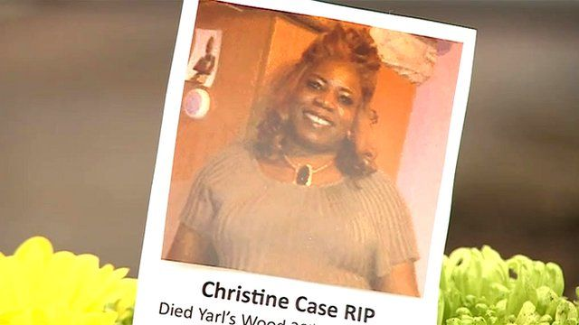 Christine Case who died in Yarl's Wood
