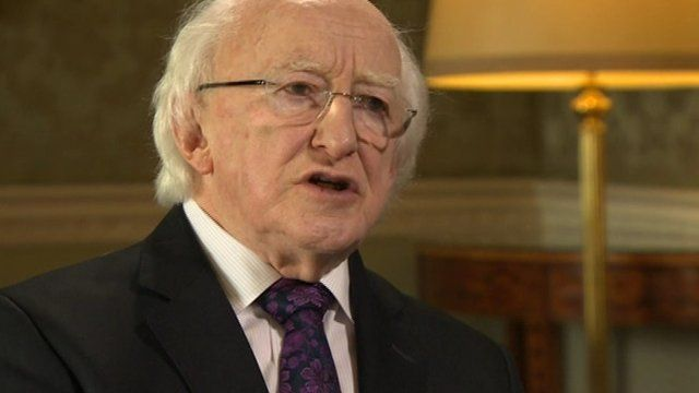 President of Ireland, Michael D Higgins