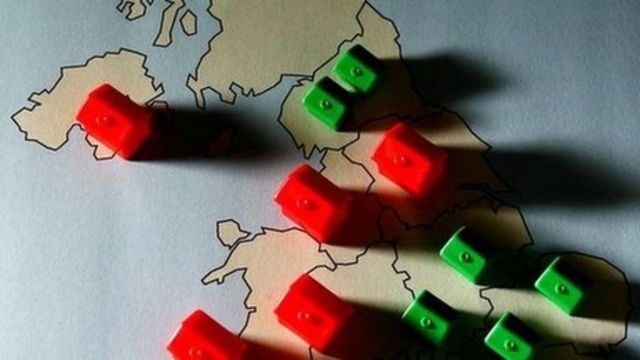 North-South divide in mortgage risk, says academic
