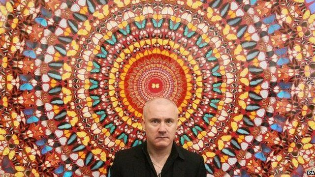 Artist Damien Hirst