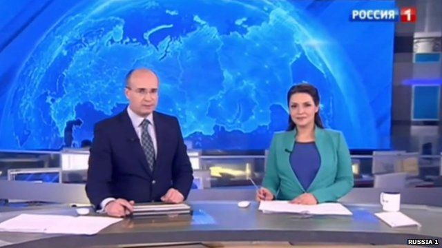 BBC's Daniel Sandford has this snapshot of Russian television news reports