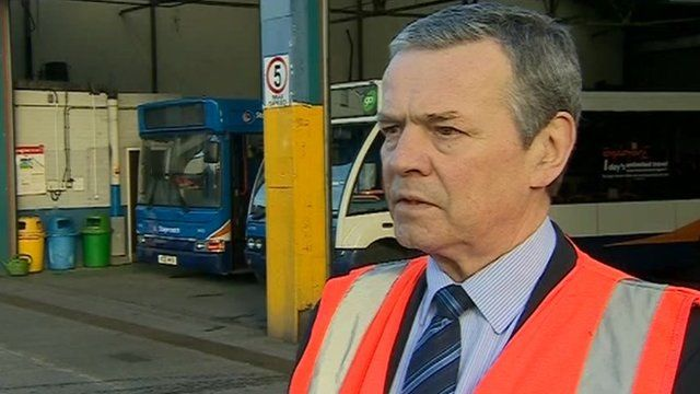 John Gould, managing director of Stagecoach in south Wales