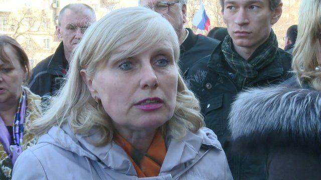 Donetsk resident