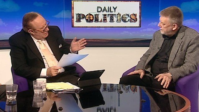 Andrew Neil and Dave Nellist