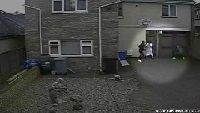Attack on woman in dressing gown
