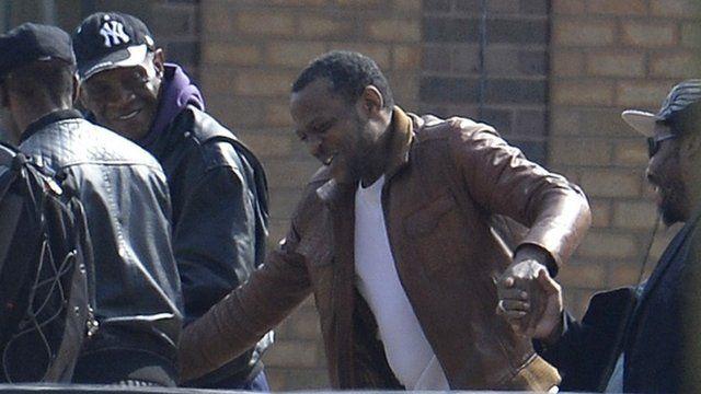 Nicholas Jacobs departs prison