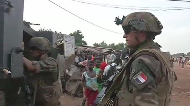 French troops in CAR