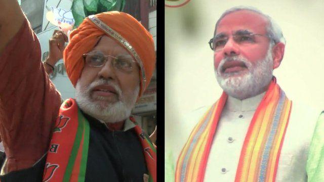 Jitendra Vyas - Narendra Modi lookalike