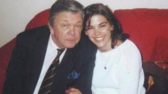 Briony Craven-Russell with her father