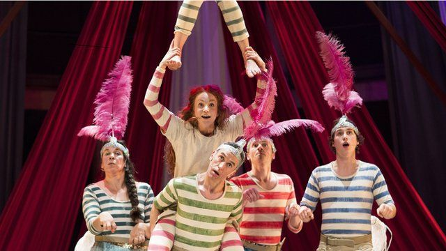 Jacqueline Wilson's Hetty Feather takes to the stage