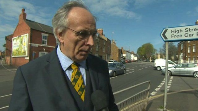 Wellingborough MP Peter Bone