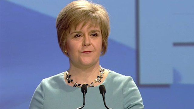Nicola Sturgeon made a plea to Labour voters to say 'Yes' to independence