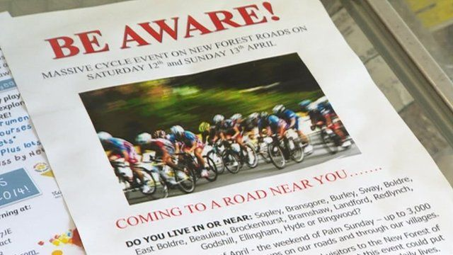 Anti-cycling poster
