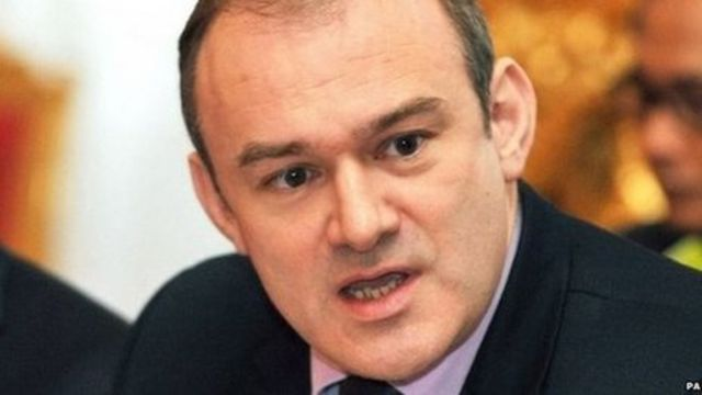 Ed Davey urges EU to lead climate change fight