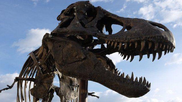 A replica of the Wankel T-Rex