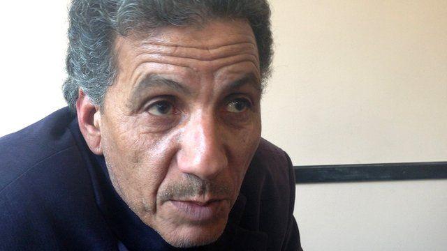 Libyan author Mansour Bushnaf