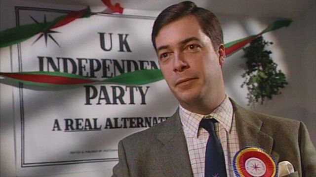 Image result for NIGEL FARAGE YOUNG