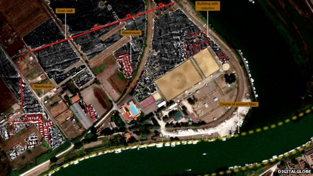 Ancient Roman port 'larger than thought', researchers find