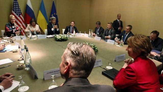 Quadrilateral talks on Ukraine crisis