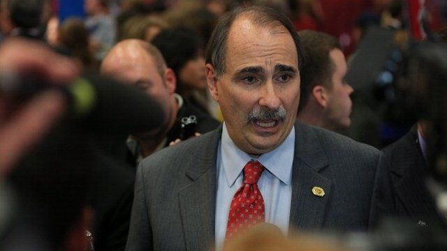 David Axelrod in Denver, Colorado, October 2012