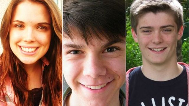 Three teenagers are asked about their voting intentions
