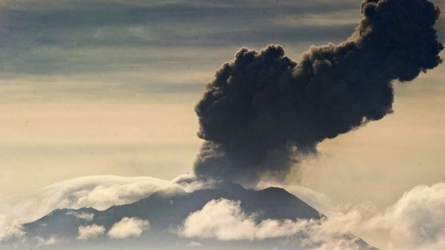 Residents evacuated from homes as Peru volcano spews ash