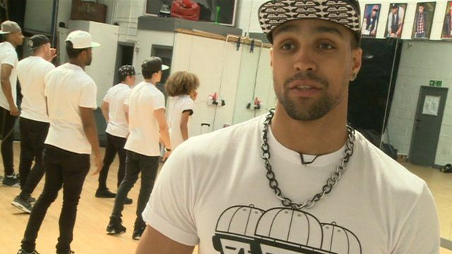 Watch to find out why Diversity's Ashley started ballet