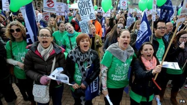 National Union of Teachers votes for strike in June