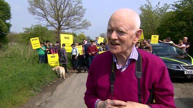 Protestor, John Radcliffe