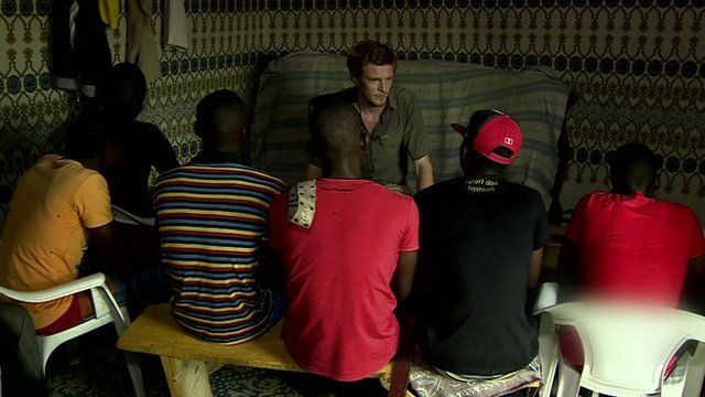 Thomas Fessy meets Boko Haram recruits