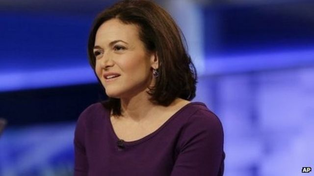 Facebook boss wants women to act to create 'equal world'