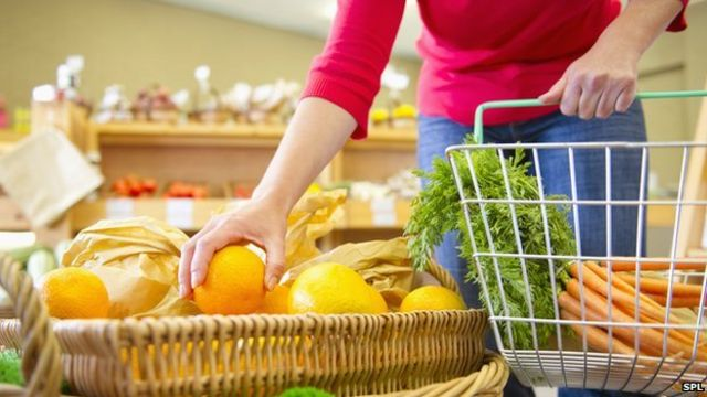 A 'third of UK adults struggle' to afford healthy food