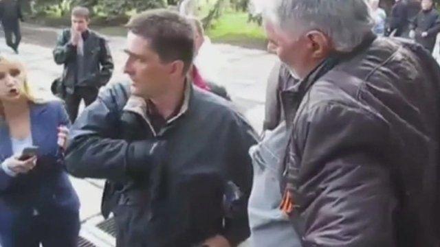 Vladimir Rybak's body was found near Sloviansk