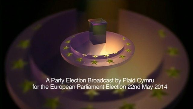 Plaid Cymru party political broadcast for European Elections