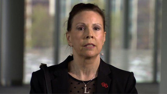 Linda Garton, mother of Thomas Anthony Howard