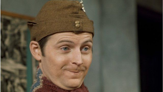 Ian Lavender as Pike in Dad's Army