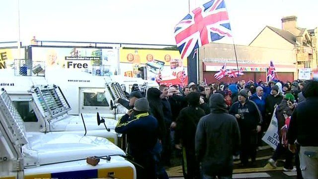A judge ruled the police wrongly facilitated illegal and sometimes violent loyalist flag protests