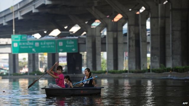 Megacities contend with sinking land