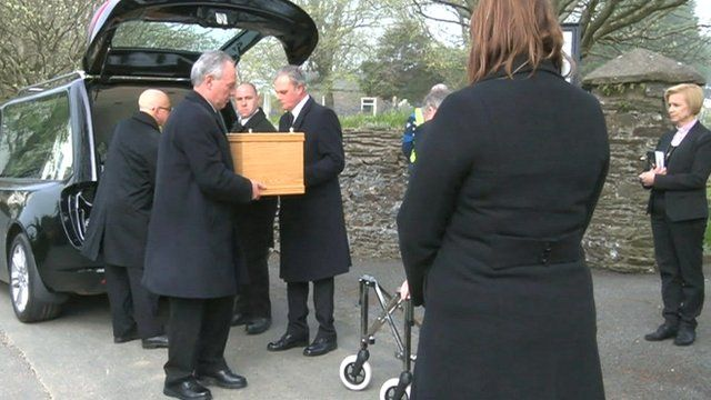 Funeral for mystery Isle of Man body