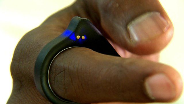 Nod smart ring is a wearable remote control