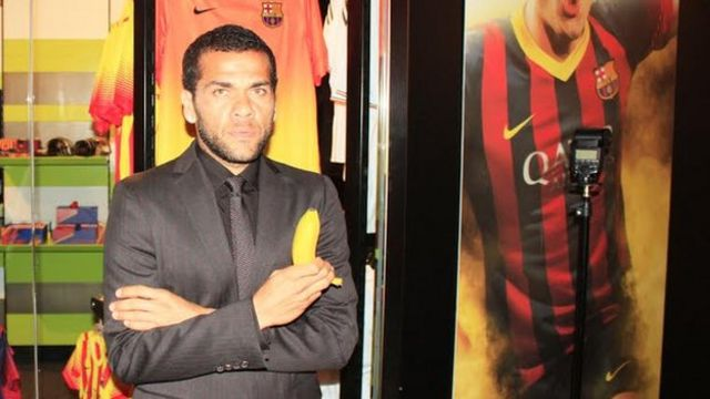 Spanish police arrest Dani Alves banana thrower suspect