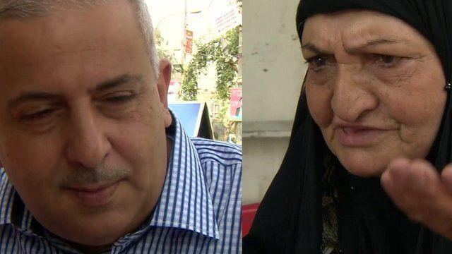 Iraqi man and woman