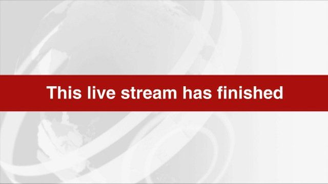 This live stream has finished