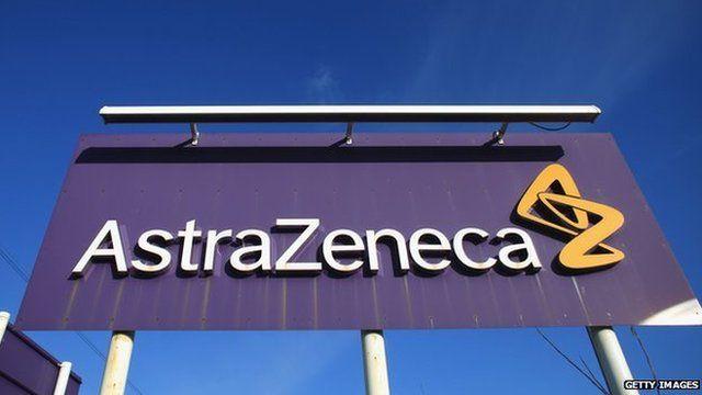 AstroZeneca sign