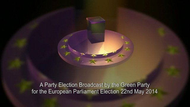 Party election broadcast graphic