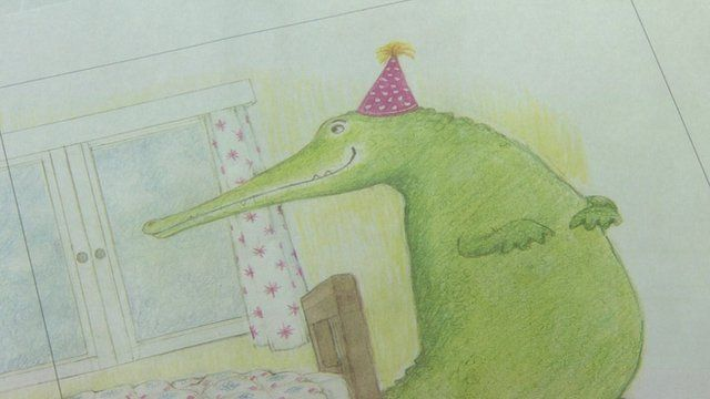 A picture from Judith Kerr's new book