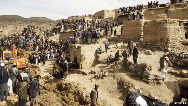 Afghanistan landslide: Day of mourning declared